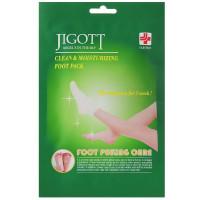 Маска-носки для пилинга ног Jigott Clean & Moisturizing Foot Pack 15г * 2 шт (8809541280115)