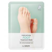 Увлажняющая маска для ног The Saem Pure Natural Foot Treatment Mask 16 мл (8806164159323)