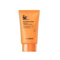 Водостойкий солнцезащитный крем The Saem Eco Earth Power Perfection Waterproof Sun Block SPF50+ PA+++ 50 г (8806164145951)