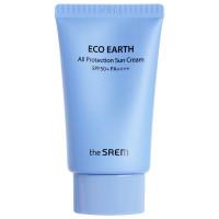 Солнцезащитный крем The Saem Eco Earth Power All Protection Sun Cream SPF50+ PA++++ 50 г (8806164162613)