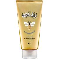 Очищающая пенка для лица с пчелопродуктами VT Cosmetics rogloss Foam Cleanser Gold Honey-Benone 300 мл (8809695670268)