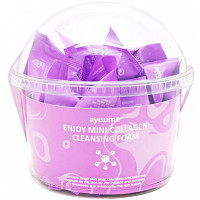 Набор пенок для умывания с коллагеном Ayoume Enjoy Mini Collagen Cleansing Foam 3 г * 30 шт (8809534253256)