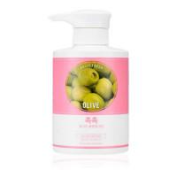 Крем для мягкого очищения кожи с экстрактом оливы Holika Holika Daily Fresh Olive Cleansing Cream 430 мл (8806334369699)