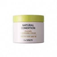 Крем для очищения кожи с авокадо The Saem Natural Condition Avocado Cleansing Cream 300 мл (8806164144336)