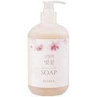 Жидкое мыло для лица и тела с экстрактом вишни Eunyul Fragrant Cherry Blossom Natural Castile Soap 500 мл (8809435404450)