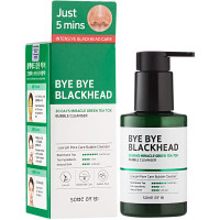 Пенка для умывания Some By Mi Bye Bye Blackhead 30 Days Miracle Green Tea Tox Bubble Cleanser 120 мл (8809647390244)