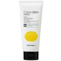 Омолаживающая пенка для умывания с экстрактом лимона Tony Moly Clean Dew Lemon Foam Cleanser 180 мл (8806358531218)