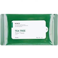 Салфетки-тонер для проблемной кожи с маслом чайного дерева A'pieu Nonco Tea Tree Toner Tissue 20 шт (8809581460539)