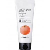 Очищающая пенка для умывания с красным грейпфрутом Tony Moly Clean Dew Red Grapefruit Foam Cleanser 180 мл (8806194005133)