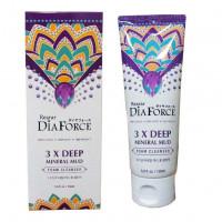 Очищающее средство для лица с грязью мертвого моря Rearar DiaForce 3x Deep Mineral Mud Foam Cleanser 150 мл (8809501400270)