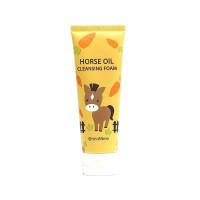 Пенка для умывания лица с лошадиным жиром SeaNtree Horse Oil 100 Cleansing Foam 120 мл (8809476696470)