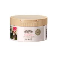 Крем для очищения кожи с экстрактом лотоса The Saem Natural Condition Lotus Cleansing Cream 300 мл (8806164144329)