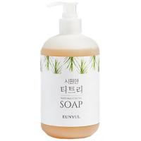 Жидкое увлажняющее мыло для лица и тела Eunyul Refreshing Tea Tree Natural Castile Soap 500 мл (8809435404436)
