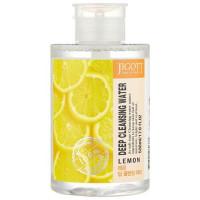 Очищающая вода с экстрактом лимона Jigott Deep Cleansing Water Lemon 530 мл (8809541280337)