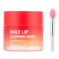 Ночная маска для губ с экстактом прополиса Farmstay Daily Lip Sleeping Mask Red Propolis 20 мл