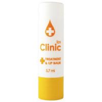 Бальзам для губ с эфирными маслами Eva cosmetics Clinic - Лимонное масло (Жёлтый)