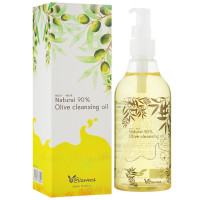 Оливковое гидрофильное масло Elizavecca Natural 90% Olive Cleansing Oil 300 мл (8809071365504)