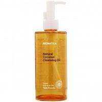 Очищающее гидрофильное масло для лица с кокосом Aromatica Natural Coconut Cleansing Oil 300 мл (8809151139117)