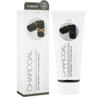 Пилинг-гель для лица с чёрным углем Jigott Premium Facial Charcoal Peeling Gel 180 мл (8809541280078)