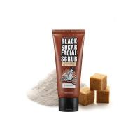 Сахарный скраб для очищения кожи лица Tosowoong Black Sugar Scrub 160 мл (8809077128493)