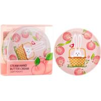 Паровой крем для рук с персиком SeaNtree Steam Hand Butter Cream Soft Peach 35 г (8809476697996)