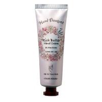 Питательный крем для рук с маслом ши Etude House Hand Bouquet Rich Butter Hand Cream 50 мл (3243)