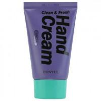 Крем для молодости кожи лица с аргановым маслом Eunyul Clean & Fresh Argan Hand Cream 50 г (8809435405624)