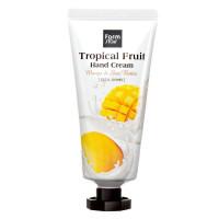 Увлажняющий крем для рук с манго и маслом ши FarmStay Tropical Fruit Hand Cream Mango & Shea Butter 50 мл (8809638300399)