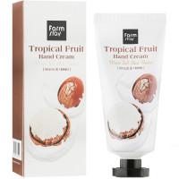 Увлажняющий крем для рук с маслом ши Farmstay Tropical Fruit Hand Cream Moist Full Shea Butter 50 мл (8809615881194)
