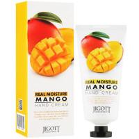 Увлажняющий крем для рук с экстрактом манго Jigott Real Moisture Mango Hand Cream 100 мл (8809541280795)