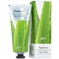 Крем для рук с экстрактом алоэ Farmstay Visible Difference Hand Cream Aloe 100 мл (8809636280495)