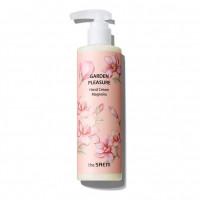 Увлажняющий крем для рук с экстрактом магнолии The Saem Garden Pleasure Hand Cream Magnolia 250 мл (8806164170403)