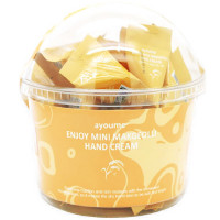 Набор кремов для рук с экстрактом макколи Ayoume Enjoy Mini Makgeolli Hand Cream 3 г * 30 шт (8809534253300)