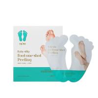 Пилинг-носочки для ног Holika Holika Baby Silky Foot One Shot Peeling, 20 мл х 2 шт (8806334335809)