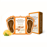 Пилинг для ног с фруктовыми кислотами Mj Care Soft Miracle Foot Peeling Pack 15 мл (8809220805721)