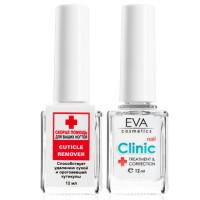 Средство для размягчения и удаления кутикулы Eva Cosmetics Clinic Cuticle Remover 12 мл (1011901003)