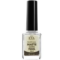 Верхнее покрытие с сатиновым эффектом 4 в 1 Eva cosmetics Matte Satin Nails 12 мл (01011800203)