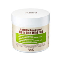 Пилинг-диски с центеллой PURITO Centella Green Level All In One Mild Pad (8809563100118)