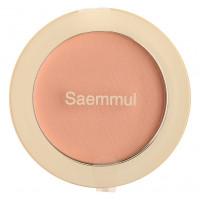 Однотонные румяна The Saem Saemmul Single Blusher BE02 Flash Beige 5 г (8806164152232)