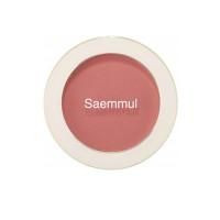 Однотонные румяна The Saem Saemmul Single Blusher CR02 Baby Coral 5 г (8806164147375)