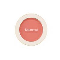 Однотонные румяна The Saem Saemmul Single Blusher CR03 Sunshine Coral 5 г (8806164152225)