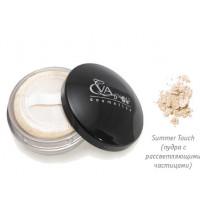 "Рассыпчатая пудра для лица Eva cosmetics ""Mineral Loose Powder"" Тон Summer Touch (пудра с рассветляющими"