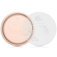 Компактная пудра для лица с растительными экстрактами Eva cosmetics Mineral matt - Теплый карамельный, 11 г