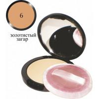 """Компактная пудра для лица Eva cosmetics """"Классик"""" 11 г Тон 06"""