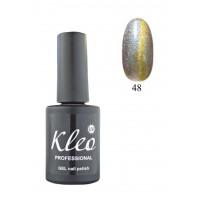 """Гель-лак для ногтей """"Кошачий глаз"""" Kleo Professional Chameleon Cat eye gel 3D effect Цвет 48"""