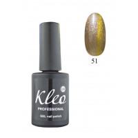 """Гель-лак для ногтей """"Кошачий глаз"""" Kleo Professional Chameleon Cat eye gel 3D effect Цвет 51"""