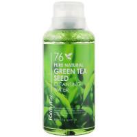 Мицеллярная очищающая вода с зеленым чаем Farmstay Pure Natural Green Tea Cleansing Water 500 мл (8809514481624)