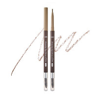 Автоматический тонкий карандаш для бровей Etude House Drawing Slim Eyebrow #3 Light Brown (8806199476815)