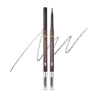 Автоматический тонкий карандаш для бровей Etude House Drawing Slim Eyebrow #6 Soft Black (8806199476846)
