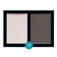 Матовые тени для век Eva cosmetics Satin Touch Палитра №10
